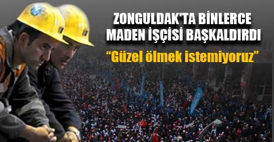 Her 10 madenciden biri iş kazası geçiriyor