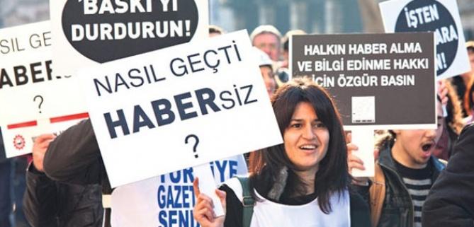 Basın özgürlüğü olmayan tek Avrupa ülkesi, Türkiye