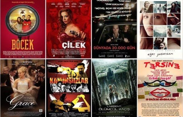 Sekiz yeni film vizyonda