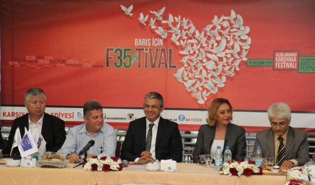 """Umut Fotoğrafları Karşıyaka """"Barış Festivali""""nde"""