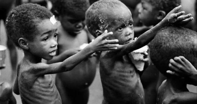 Her 5 çocuktan 1'i  insani yardımdan yoksun…