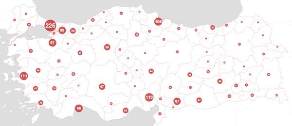 İşte Türkiye'nin şiddet (cinayet) haritası…