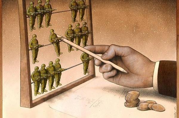 Terörün ve Savaşın Arkasındaki Acımasız Gerçekleri Yansıtan 13 Karikatür