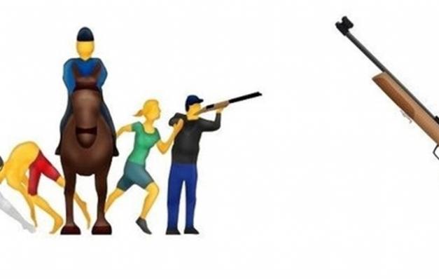 'Tüfek emoji'si tarih oluyor