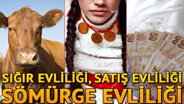 Sığır evliliği, satış evliliği, sömürge evliliği
