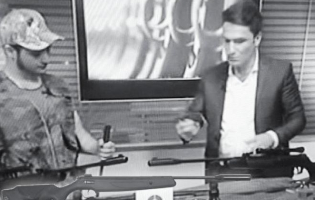 Televizyonda havalı tüfek satışı tehlikeye dönüşüyor