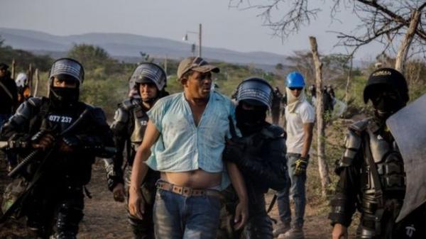 Kolombiya'da çevrecilere saldırılarda büyük artış yaşanıyor.