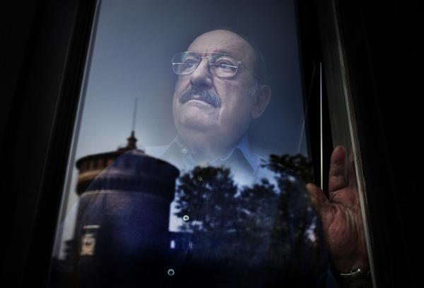 Portrait of Umberto Eco © Andrea Frazzetta