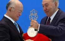 Kazakistan'da uranyum bankası açıldı