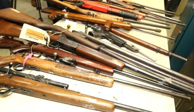 26 bin kayıt dışı silah teslim edildi
