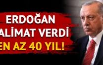 Erdoğan: Kadın cinayetlerine 40 yıl ceza istedi