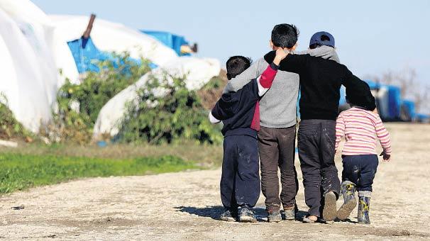 Mülteci çocuklara mülteci istismarı!
