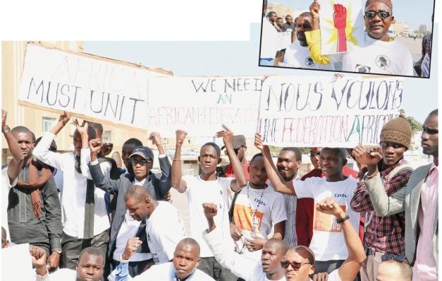 Afrika'da büyük yürüyüş