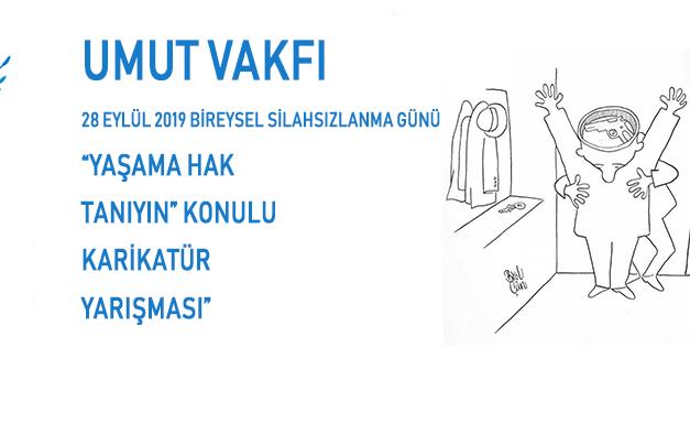 Umut Vakfı'nın Uluslararası Karikatür Yarışması'na başvurular başladı…