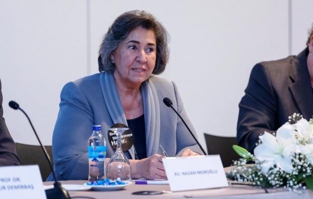 Nazan Moroğlu: Şiddetle hukuk yoluyla mücadele