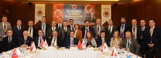 16 Baro Başkanı, Isparta'dan bildiri yayınladı