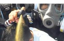 Biber gazı silah…
