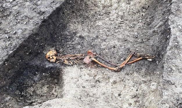 Kazı 2 bin 500 yıllık cinayeti açığa çıkardı
