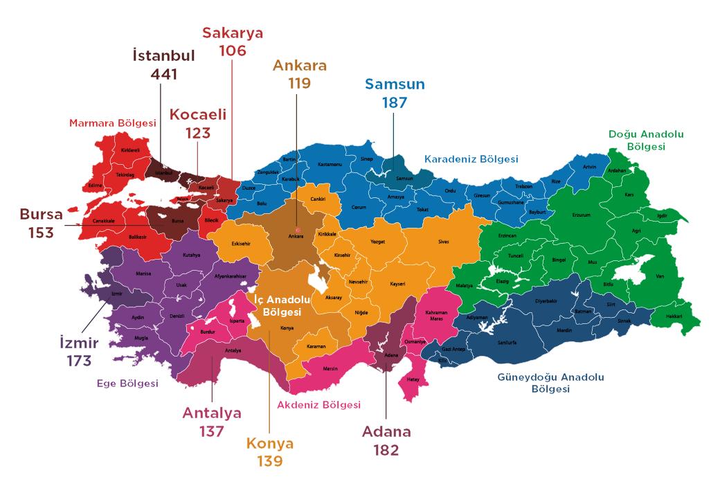 2020'nin Şiddet Haritası