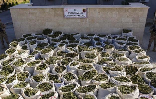 2020'de 67 ton 251 kilo esrar ve 2 ton 398 kilo eroin ele geçirildi